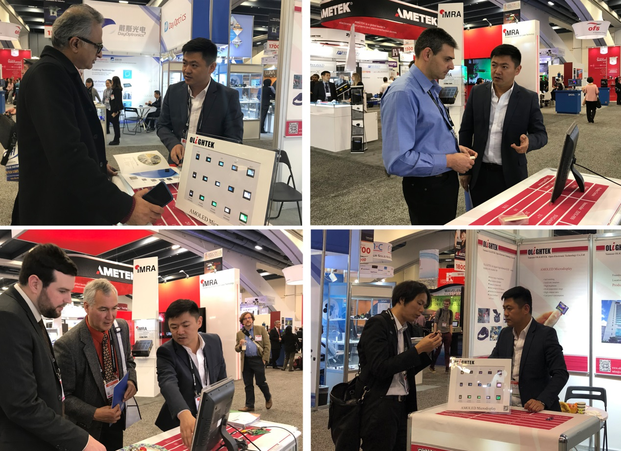 From January 30th to February 1rs, 2018, the company participated in the Western Photonics Expo (SPIE 2018)